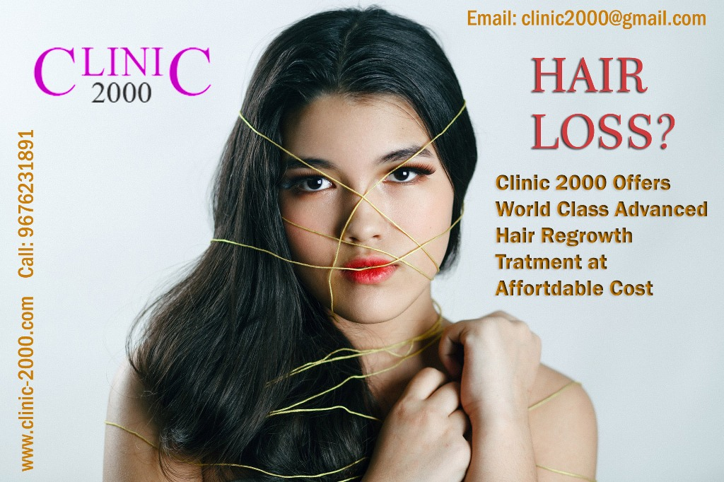 Best Hair Treatment Clinic In Hyderabad Clinic 2000