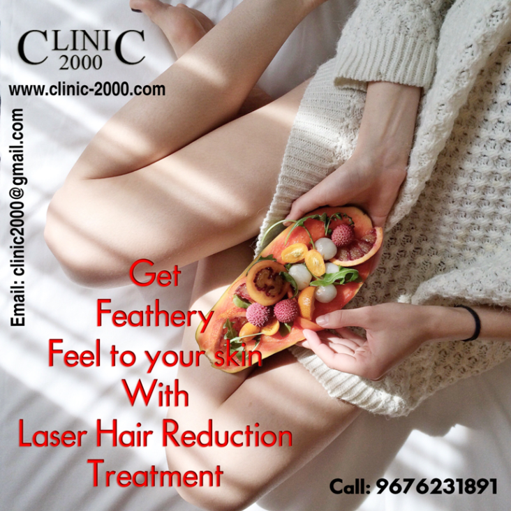 Laser Hair Reduction treatment in Hyderabad