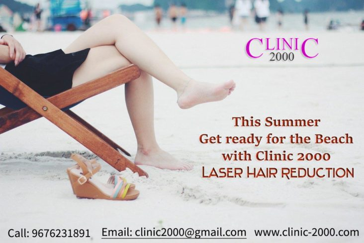 This Summer Get ready for the Beach with Clinic 2000 Laser Hair Reduction